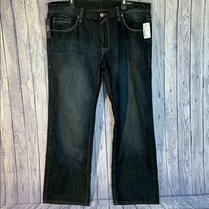NWT Buffalo David Bitton Dark Wash Relaxed Denim